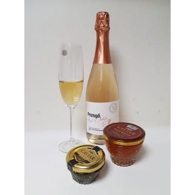 Pezsgő kézműves Pinot Noir brut rosé Kálna Pincéből 750ml