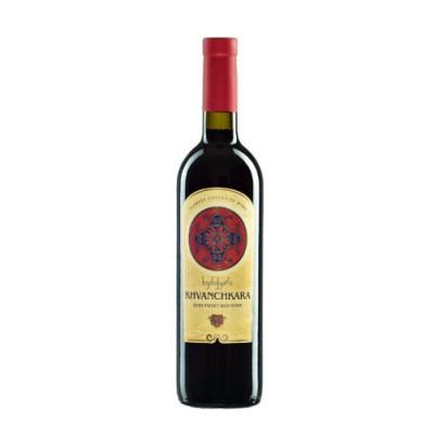 Vörös félédes bor Khvanchkara Gareji 0,75L