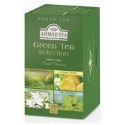 Zöld tea válogatás AHMAD 4 fajta tea x 5 tasak