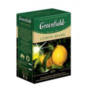 Fekete tea szálás természetes ízesítéssel Lemon Spark 100g