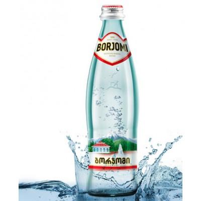 Asványvíz Borjomi 0,5l üvegben