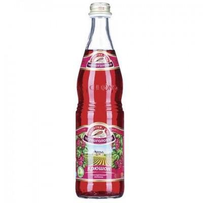 Széns.üdítőital kruson 0,5L Csernogolovka Üveg