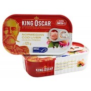 Tőkehalmáj 121 g King Oskar