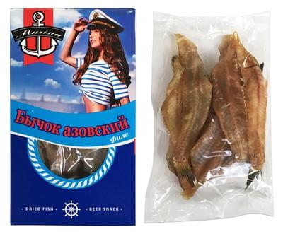 Bycsok (goby hal) szárított sózótt 75 g Marina