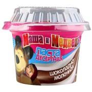 Kenőcs csokis tejes ízben Masa és Medve 220g