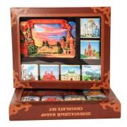 Ajándék csokoládé mágnessel Moszkovszkoe Naszledie 60g