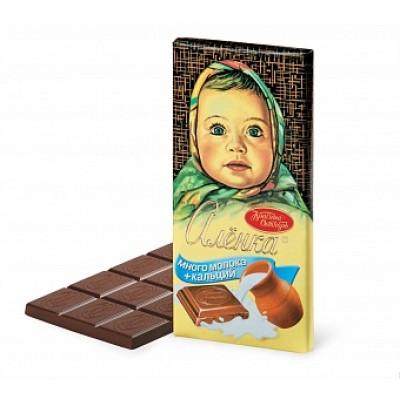 Csokoládé Aljonka sok tejes 100g