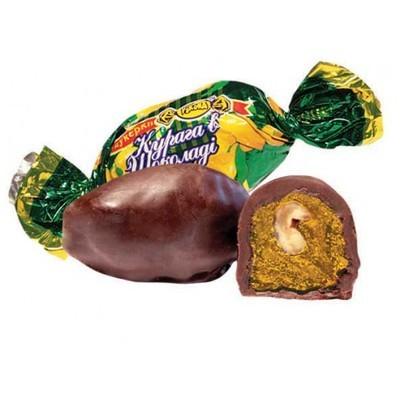 Bonbon aszalt barack dióval csoki bevonatban 100g