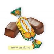 Zselés cukorka narancsos ízben csoki bevonatban 100g