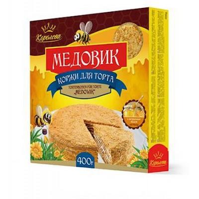 Tórtaalap mézestórtához 400g Koroleva