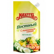 Majonéz Maheev citromlével böjthöz 200g