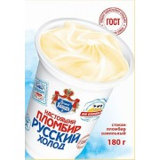 Jégkrém igazi Plombir műanyag pohárban 360ml/180g